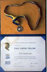 Distinction de ROTARY INTERNATIONAL