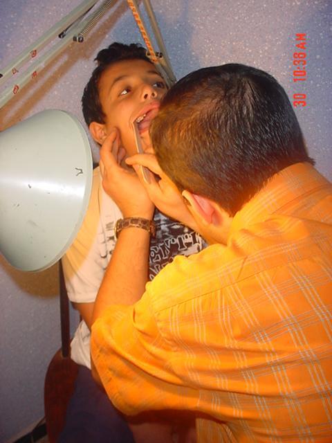 Dépistage  stomatologie