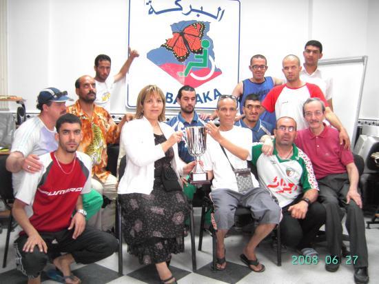 Coupe d'Algerie pour non voyant