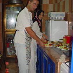 préparation du repas