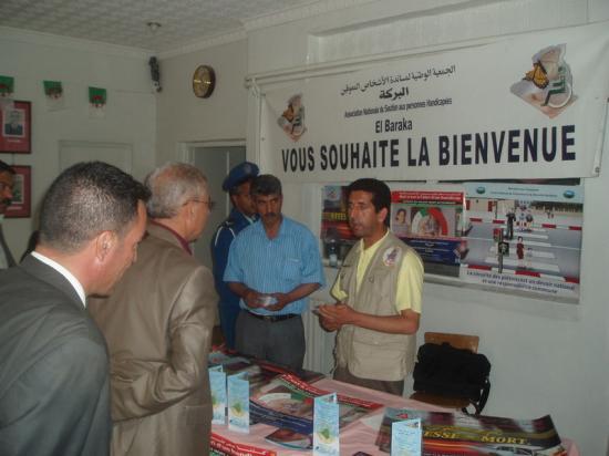 Plaidoyer auprés des autorités de la commune de N'Gaous
