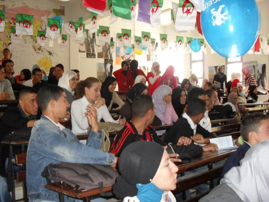 Action lycée d'Ain Taya
