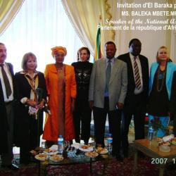 El Baraka et le parlement d'afrique du S