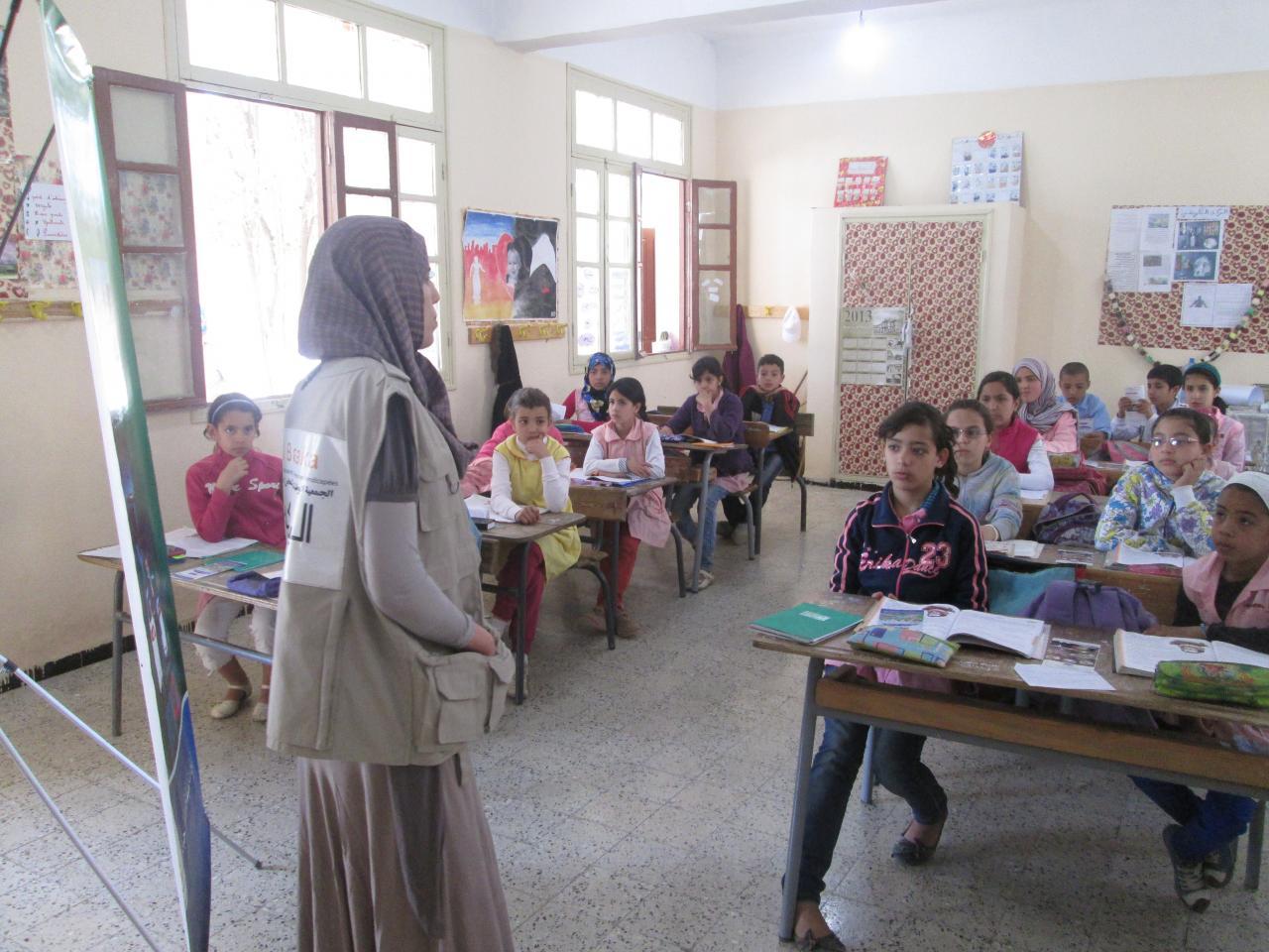 Participation dans les ecoles
